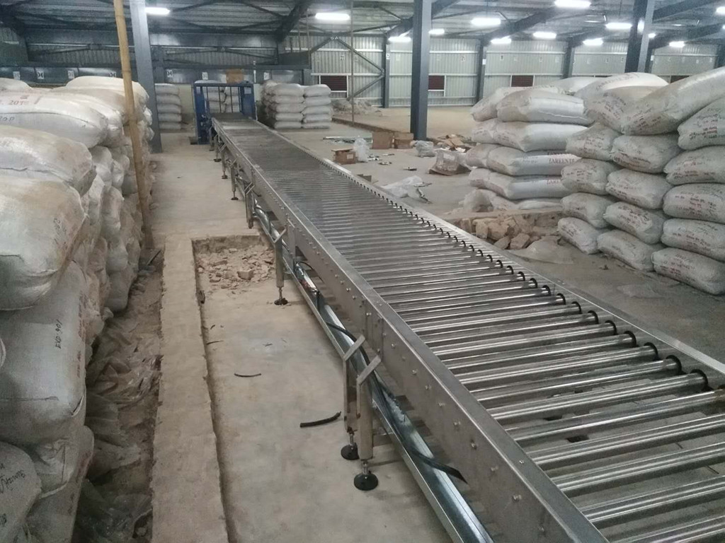 YiFan curve conveyor system company for warehouse-2