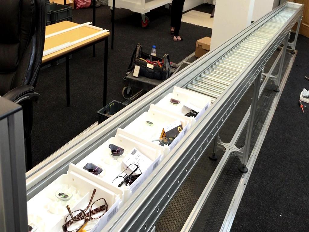 YiFan gravity gravity roller conveyor manufacturers for carton transfer-2