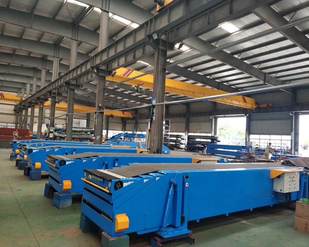 Custom telescopic belt conveyors platform suppliers for workshop-2