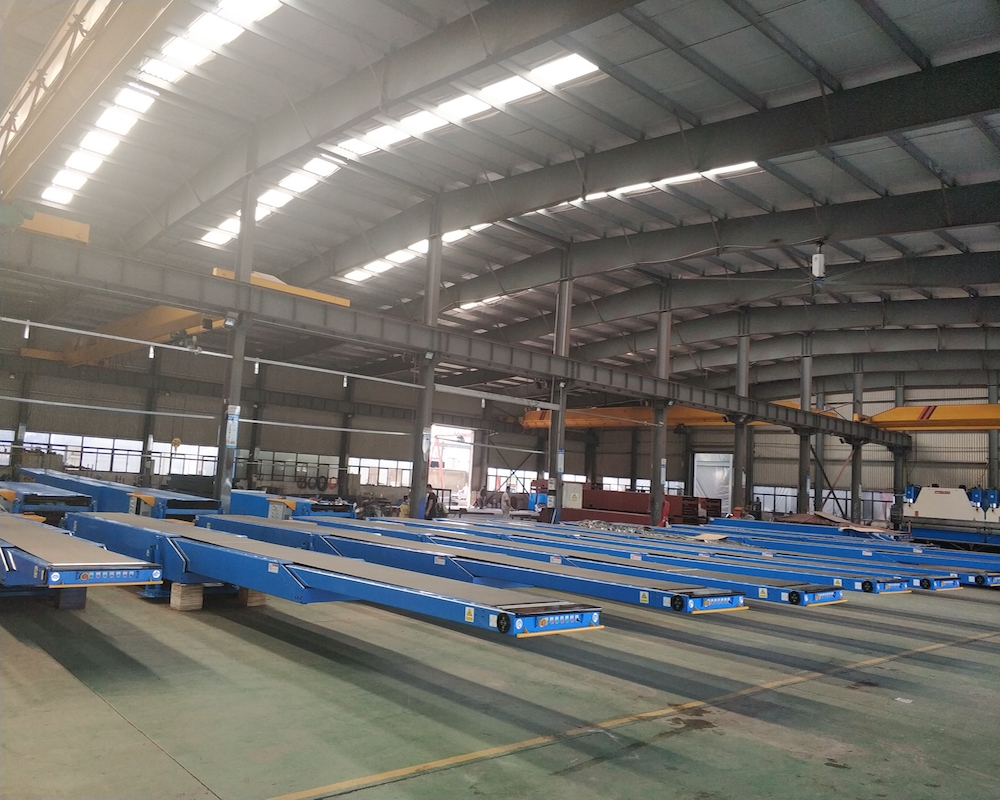 YiFan tail telescopic conveyor competitive price for harbor-1