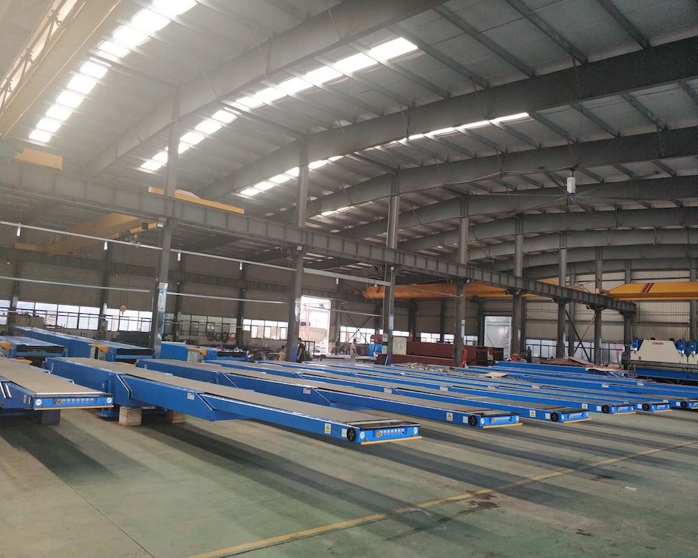 Custom telescopic belt conveyors platform suppliers for workshop-1