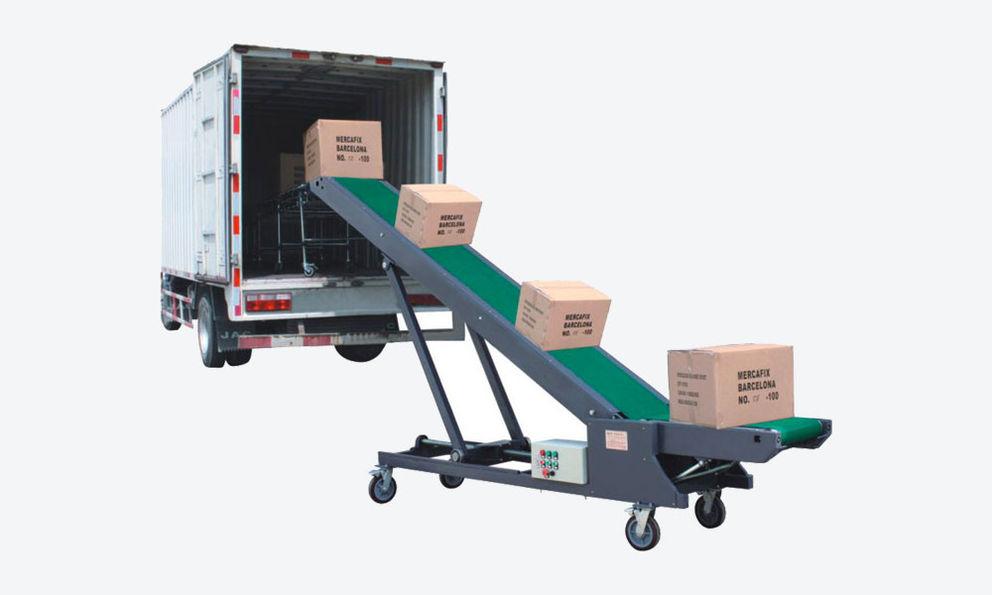 Cartons Loading Unloading Conveyor