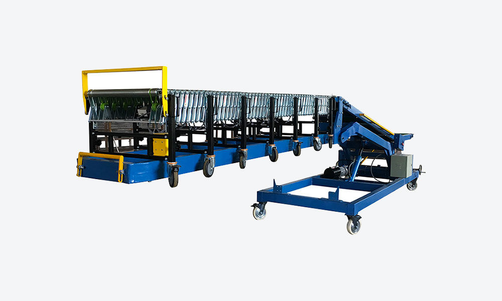20ft & 40ft Container loading unloading belt conveyor