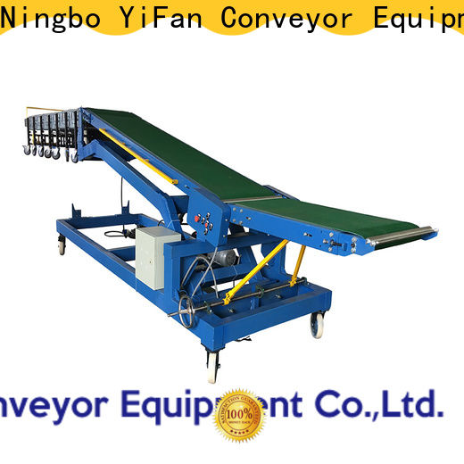 Professional truck unloading conveyor system company for airport