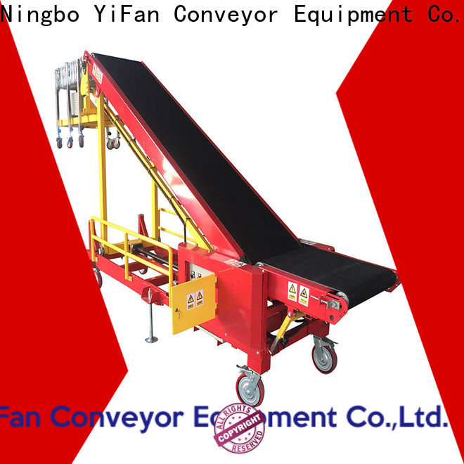 2019 new truck loading conveyor simple China supplier for airport