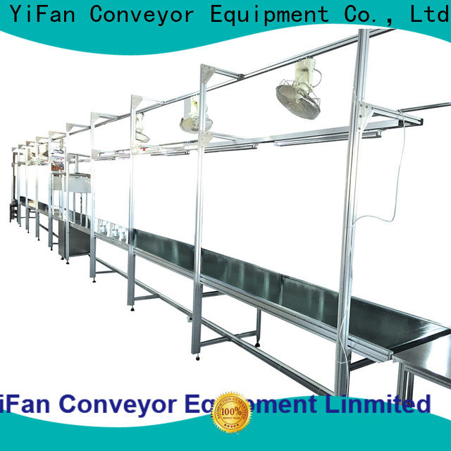 2019 new designed conveyor belt suppliers heavy with bottom price for logistics filed
