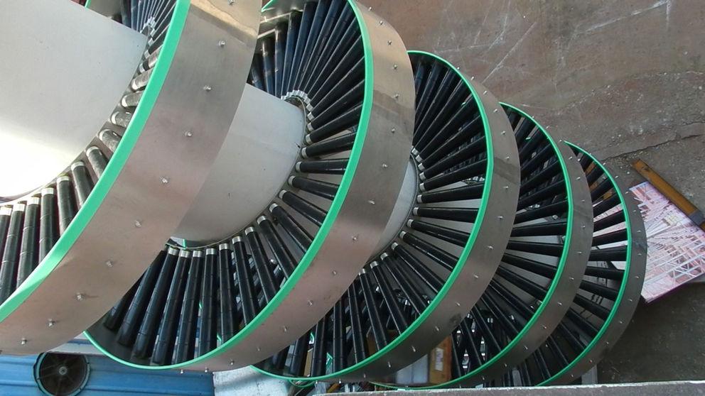 Gravity Spiral Roller Conveyor