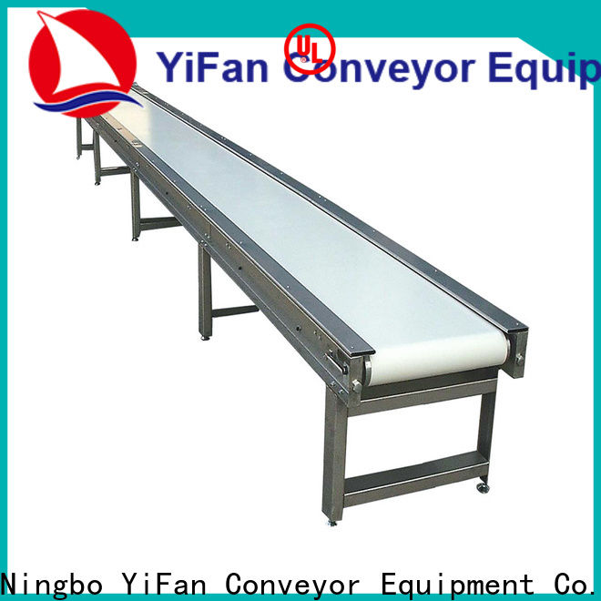 YiFan curve conveyor belt suppliers with good reputation for logistics filed