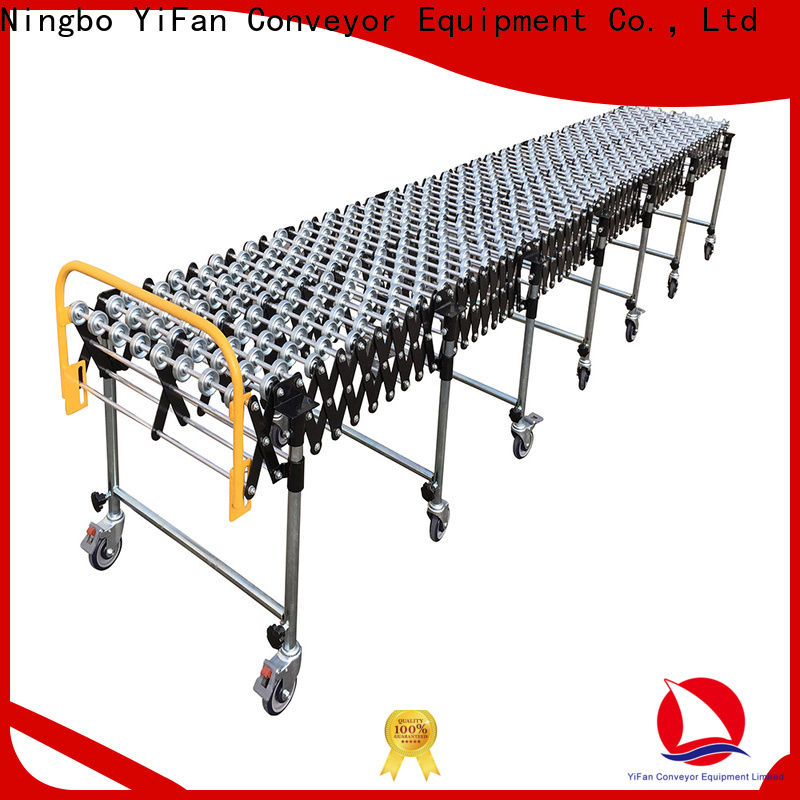 YiFan 600mm skatewheel conveyor competitive price for warehouse