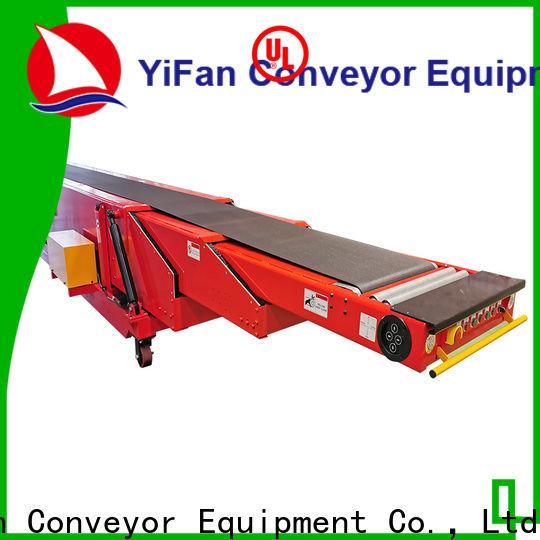 YiFan telescopic telescopic conveyor competitive price for harbor