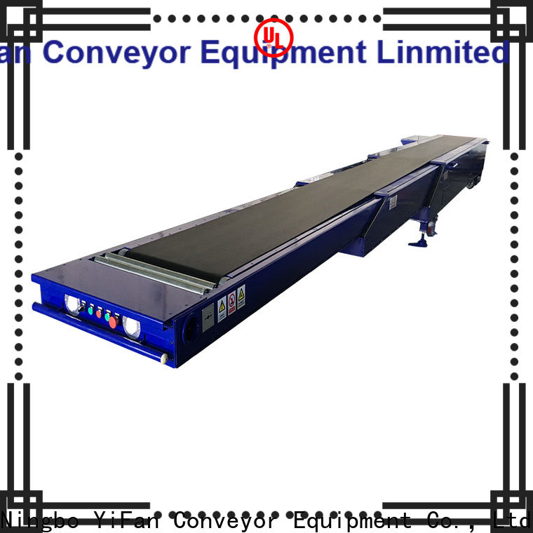 YiFan container conveyor belting with bottom price for mineral
