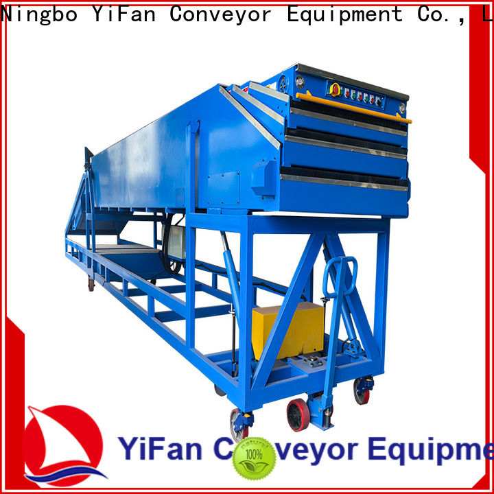 conveyor belt machine mobile widely use for dock
