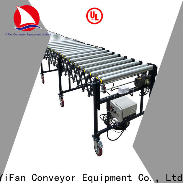 YiFan belt flexible roller conveyor inquire now for storehouse