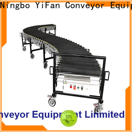 YiFan low cost automated flexible conveyor trader for factory