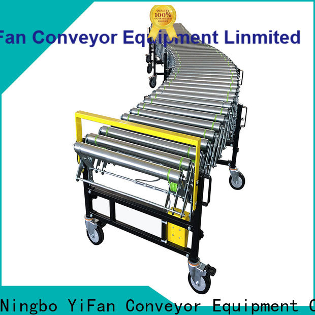 professional powered flexible conveyor rubber quick transaction for factory