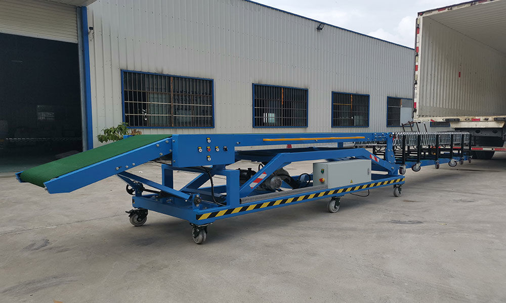 20ft and 40ft Container Loading Conveyor