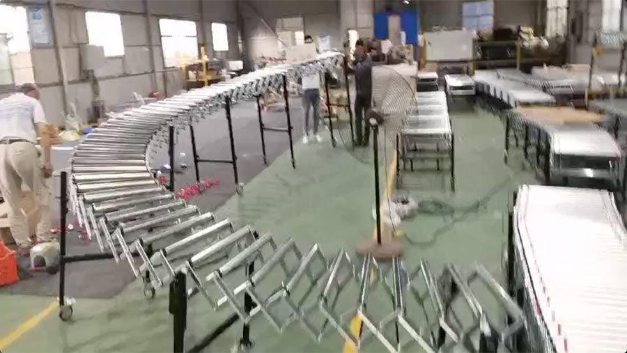 Flexible Gravity Roller Conveyor (FGR-LZ-600)
