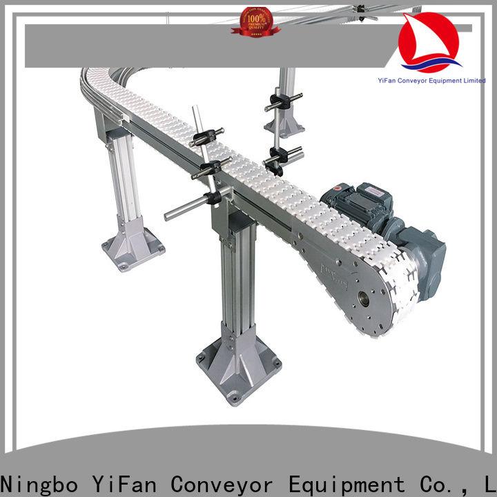 shop slat chain conveyor aluminum popular for beverage industry
