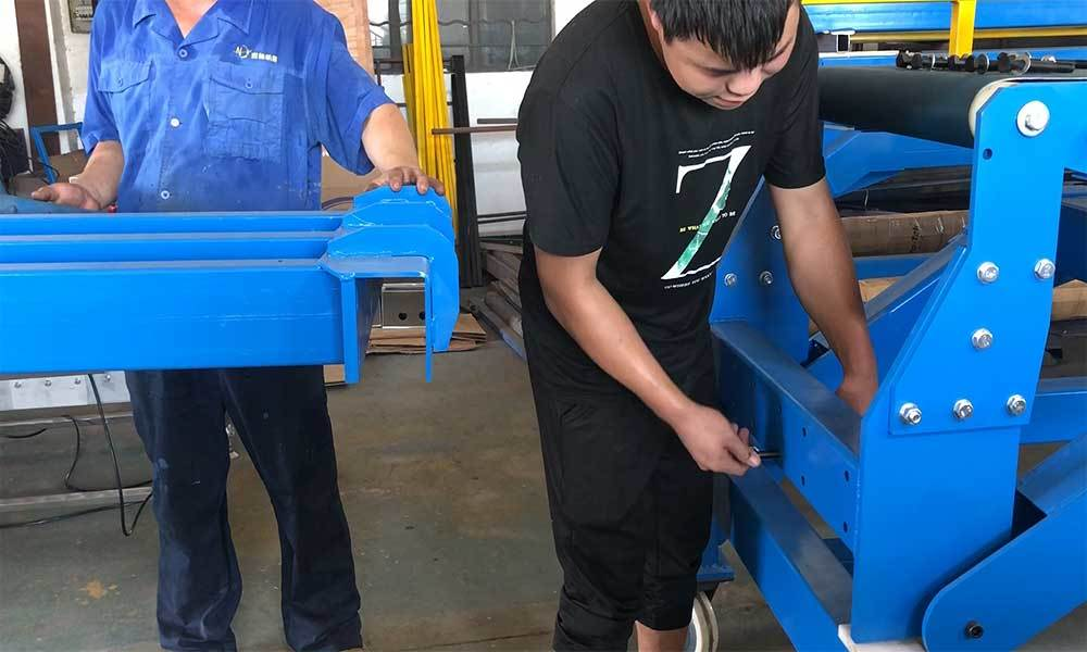 How to install YiFan's CBLC-600 Truck Loading Conveyor