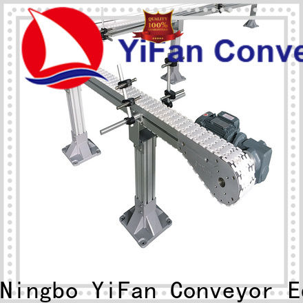 YiFan slat slat conveyor manufacturers with favorable price for beverage industry