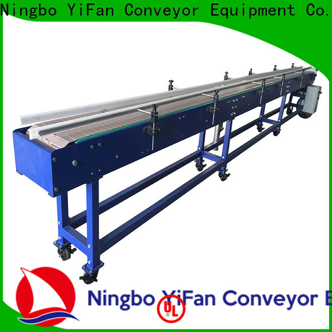 YiFan shop slat conveyor with favorable price for printing industry