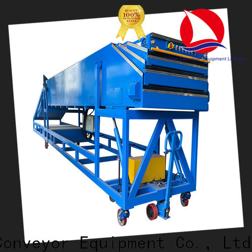 YiFan platform belt conveyor for warehouse