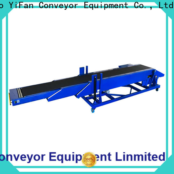 telescopic belt conveyors system widely use for seaport