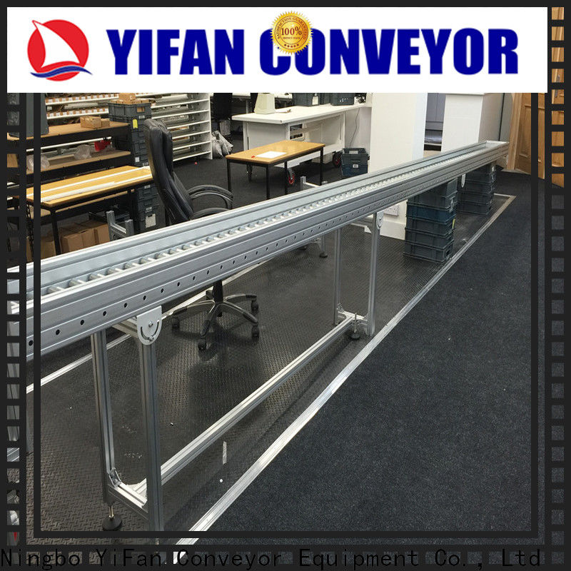 YiFan curve roller conveyor suppliers from China for industry