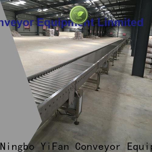 YiFan aluminum roller conveyor manufacturer chinese manufacturer for workshop