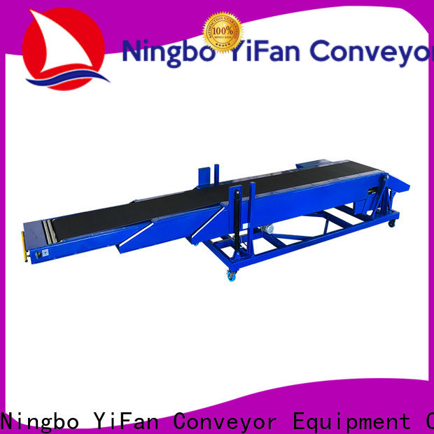 YiFan loading z type belt conveyor factory for storehouse