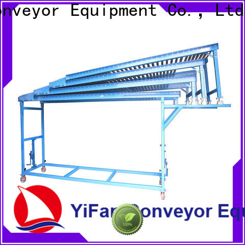 YiFan vehicles conveyor line supply for food factory