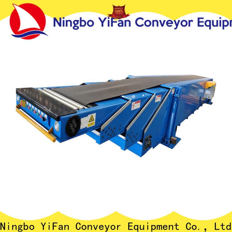 Custom telescopic belt conveyors platform suppliers for workshop