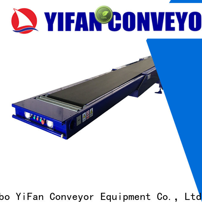 YiFan telescopic telescopic conveyor manufacturers for food factory
