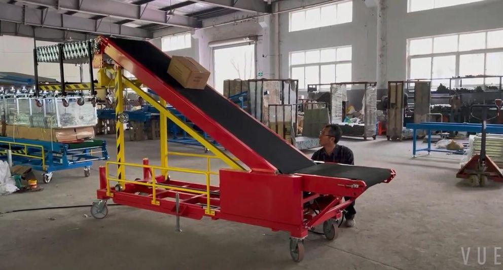 Portable Loading Unloading Belt Conveyor for Small Vehicles