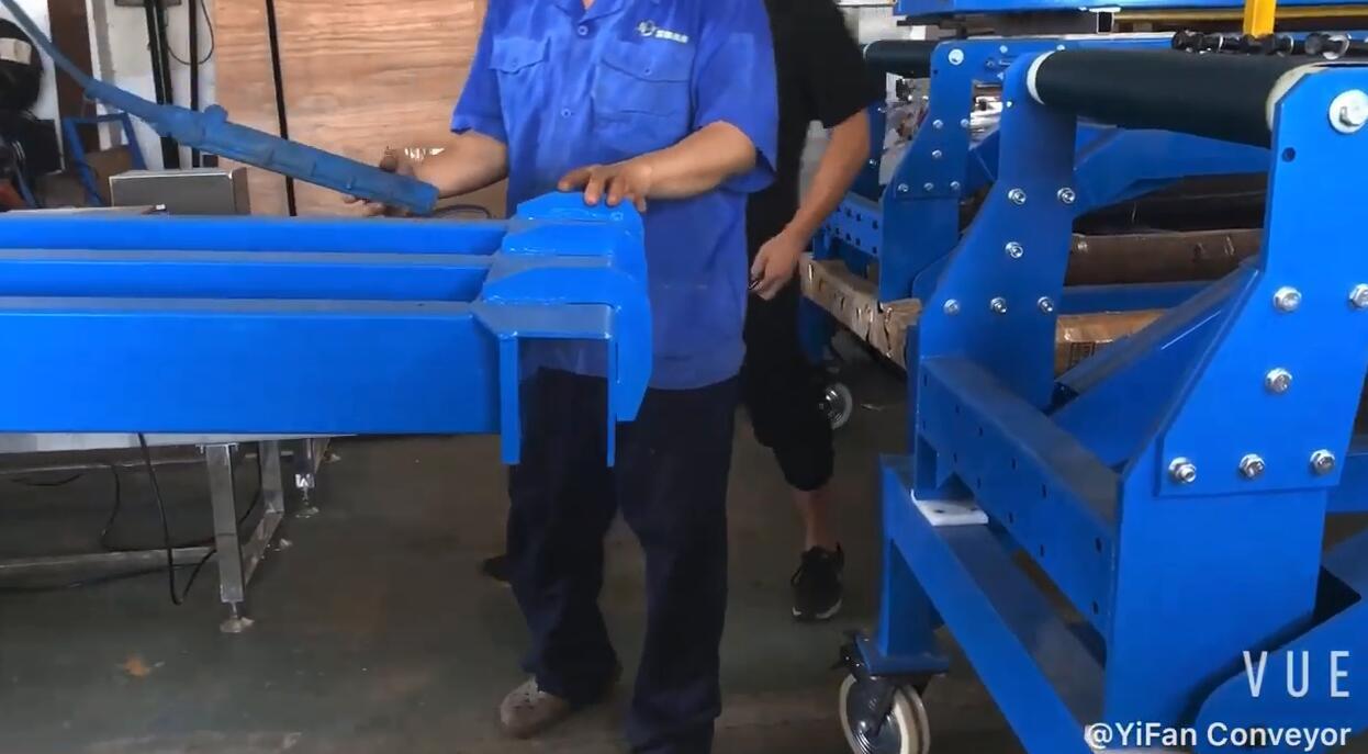 Loading Unloading Conveyor's Robust Truck/Container Belt