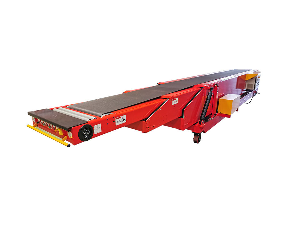 20ft Container Loading Platform Unloading Mobile Telescopic Belt Conveyor MTBC-3S-6/8-600