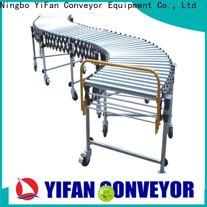 YiFan Wholesale gravity roller conveyor company for warehouse logistics