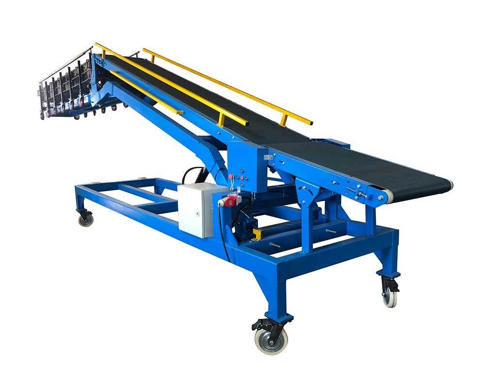 20ft Container Loading Unloading Belt Conveyor System | CBLC-600