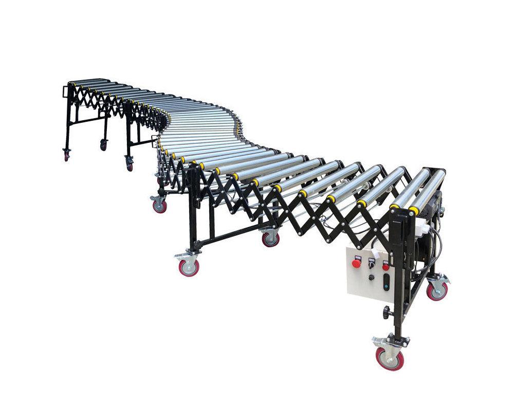 100KG Heavy-Duty Flexible Powered Roller Conveyor | FPR-V