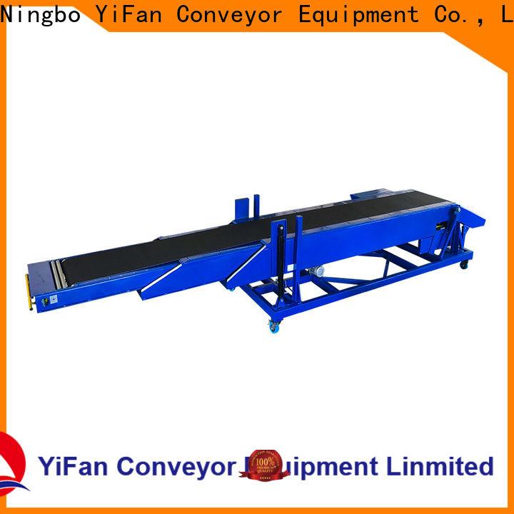 YiFan mobile truck conveyor belt manufacturers for workshop
