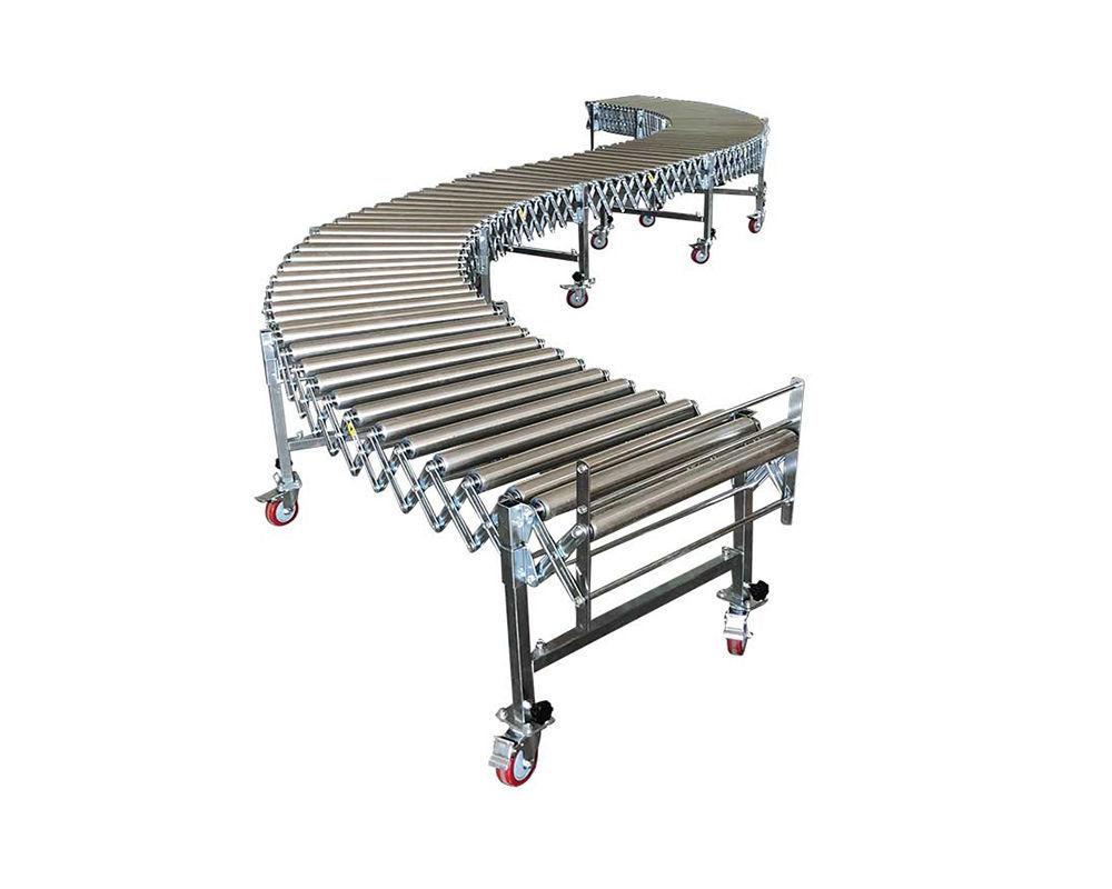 Flexible Gravity Stainless Steel 304 Roller Conveyor | FGR-SUS304