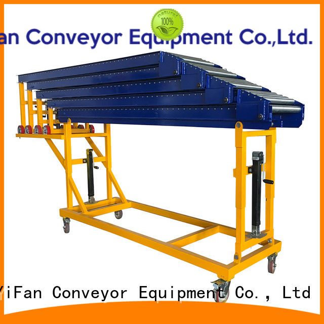 YiFan best selling powered roller conveyor system great deal for harbor
