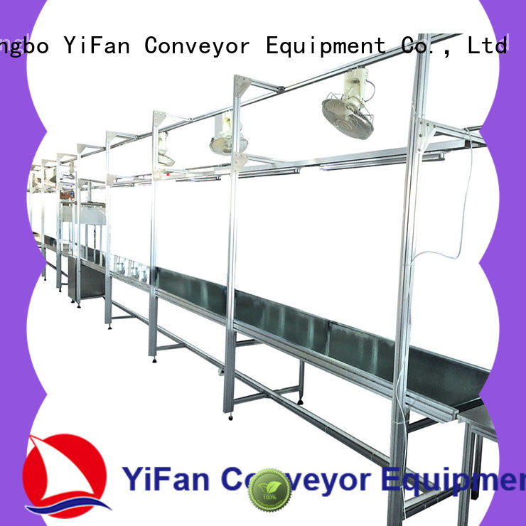 YiFan aluminum conveyor belt manufacturers with good reputation for medicine industry