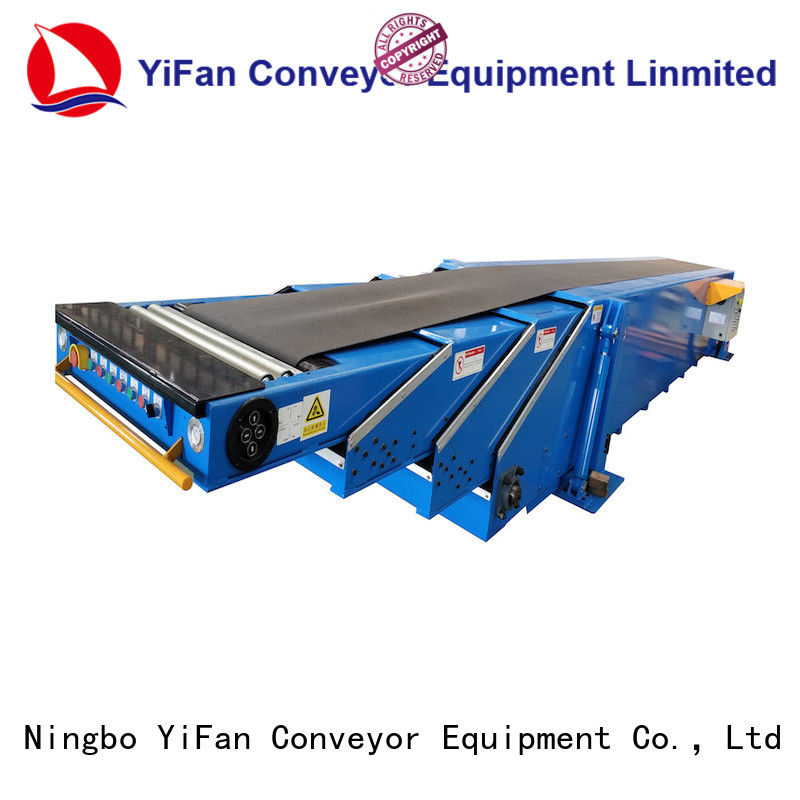 YiFan latest telescopic conveyor with bottom price for workshop