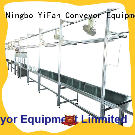 YiFan china manufacturing magnetic belt conveyor manufacturers with good reputation for logistics filed