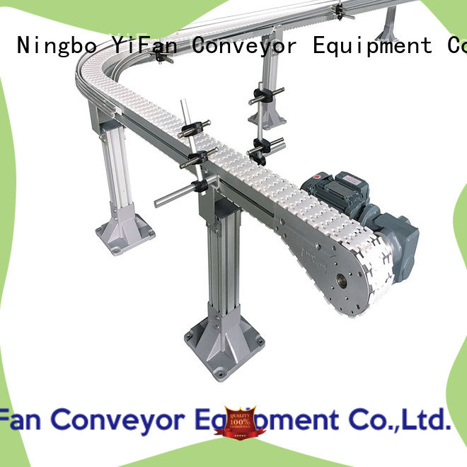 YiFan plastic slat conveyor manufacturers with favorable price for beer industry