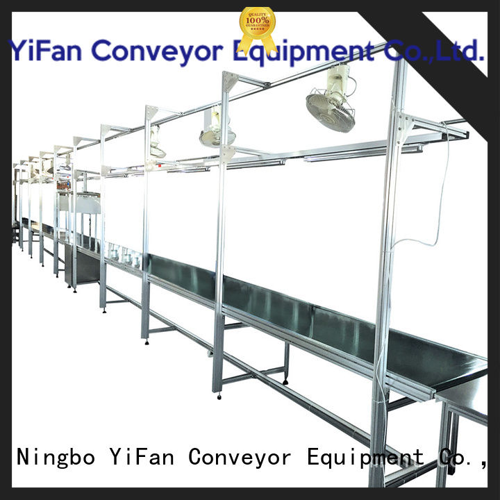 2019 new designed conveyor belt manufacturers assembly with bottom price for food industry