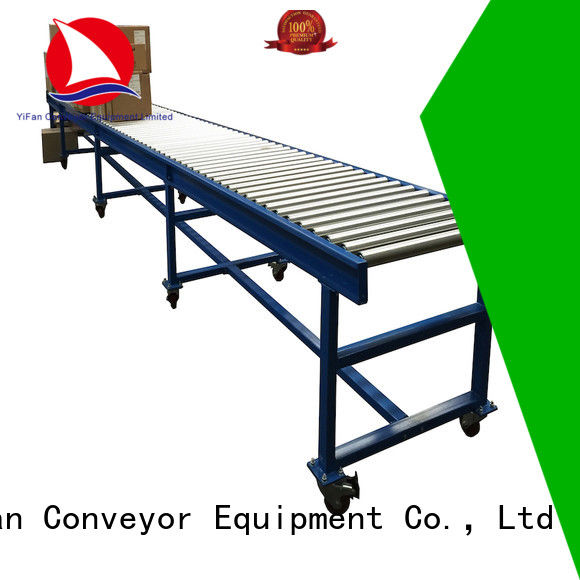 YiFan hot sale gravity conveyor manufacturers source now for material handling sorting