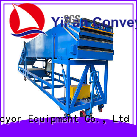 YiFan mobile conveyor belt system for mineral