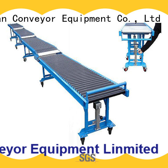 YiFan high performance portable roller conveyor factory price for grain transportation